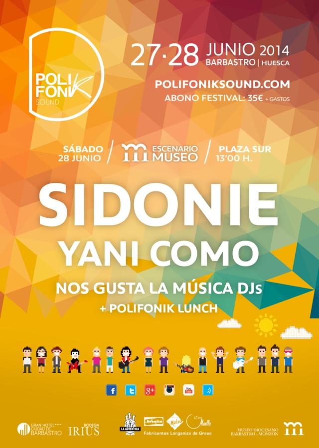 Sidonie en el Escenario Museo PolifoniK  Sound