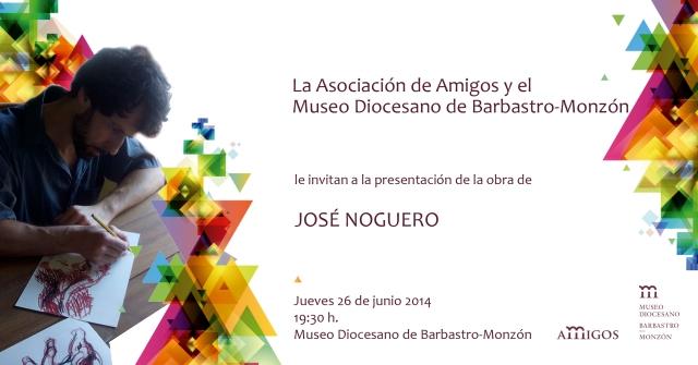Presentación de la obra de José Noguero en el Museo Diocesano de Barbastro-Monzón
