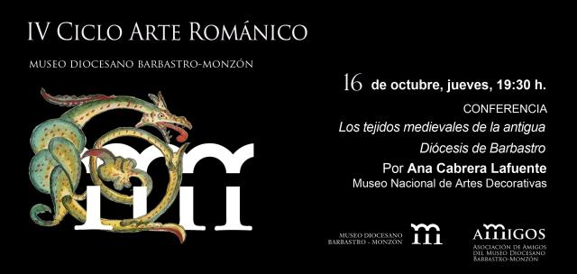 invitación IV ciclo Arte Románico 16 octubre 2014