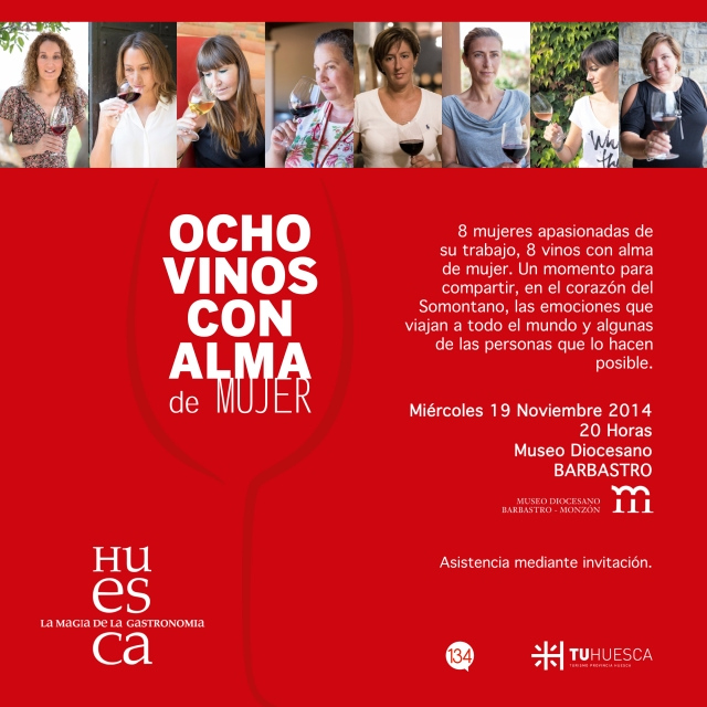 Invitación 8 vinos museo