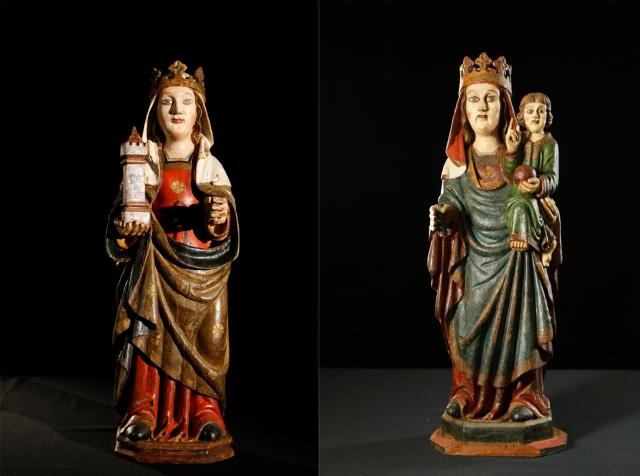 Santa Bárbara de Troncedo    Virgen de Troncedo