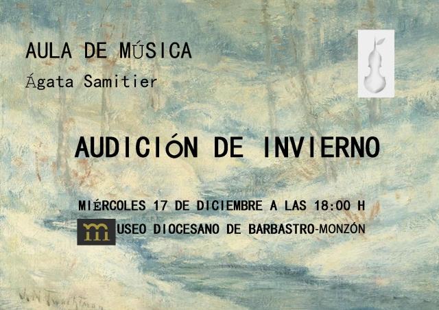 AUDICION DE INVIERNO BARBASTRO..