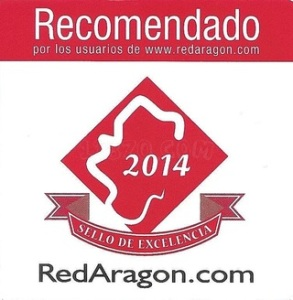 Establecimiento con Sello de Excelencia Turísitca en Aragón 2014