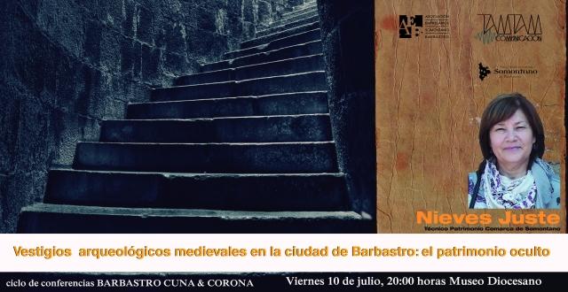 CUNA CORONA conferencias viernes 10 juLio