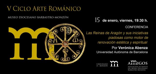 invitación V ciclo Arte Románico 15ENE16