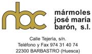 Mármoles José María Barón   Socio Protector