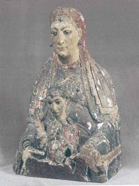busto Virgen  Seattler XII-XIII