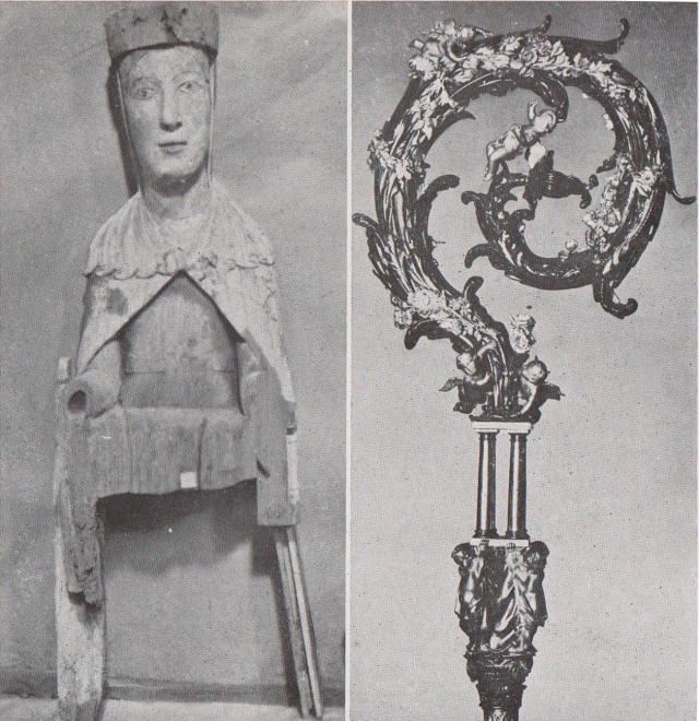 Virgen de Obarra + Báculo Ricardo del Arco