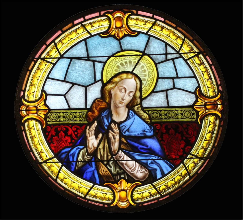 La vidriera de la Virgen, nueva pieza en el Museo ...