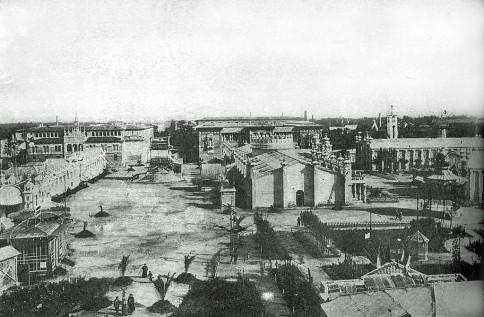 Plaza de los sitios pabellones