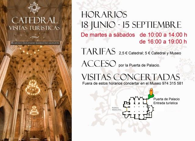 horarios catedral junio a septiembre 2019 puerta turística